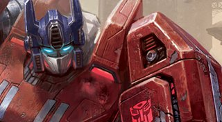 Transformers: Fall of Cybertron Trophy List Banner