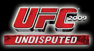 UFC 2009 Undisputed Trophy List Banner