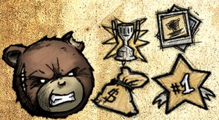 Naughty Bear: Panic in Paradise Trophy List Banner