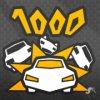 1000 traffic cars