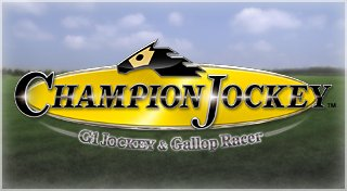 Champion Jockey: G1 Jockey & Gallop Racer Trophy List Banner