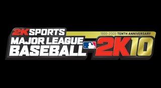 Major League Baseball 2K10 Trophy List Banner