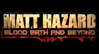 Matt Hazard: Blood Bath and Beyond Trophy List Banner
