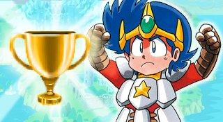 Wonder Boy in Monster World Trophy List Banner