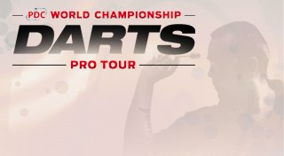 PDC World Championship Darts Pro Tour Trophy List Banner