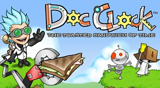 Doc Clock: The Toasted Sandwich of Time Trophy List Banner