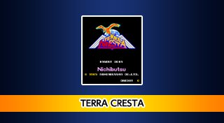 Arcade Archives: Terra Cresta Trophy List Banner