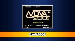 Arcade Archives: Nova 2001 Trophy List Banner
