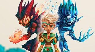 Red Goddess: Inner World Trophy List Banner