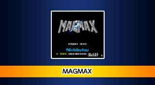 Arcade Archives: MagMax Trophy List Banner