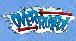 Overruled! Trophy List Banner