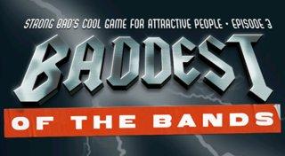 Strong Bad Episode 3: Baddest of the Bands Trophy List Banner