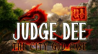 Judge Dee: The City God Case Trophy List Banner