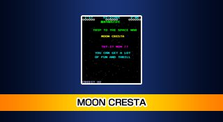 Arcade Archives MOON CRESTA Trophy List Banner