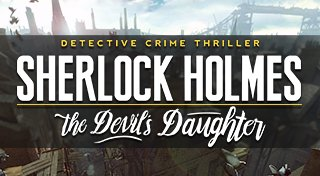 Sherlock Holmes: The Devil's Daughter Trophy List Banner