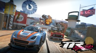 Table Top Racing: World Tour Trophy List Banner
