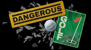 Dangerous Golf Trophy List Banner