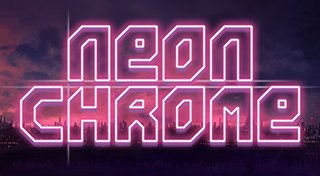 Neon Chrome Trophy List Banner