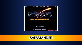 Arcade Archives SALAMANDER Trophy List Banner