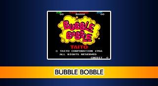 Arcade Archives BUBBLE BOBBLE Trophy List Banner