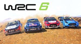 WRC 6 Trophy List Banner