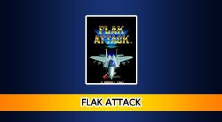Arcade Archives FLAK ATTACK Trophy List Banner