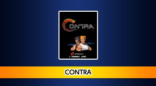 Arcade Archives CONTRA Trophy List Banner