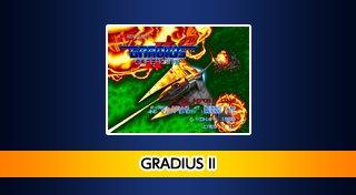 Arcade Archives Gradius II Trophy List Banner