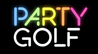 Party Golf Trophy List Banner