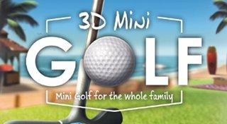 3D Mini Golf Trophy List Banner