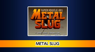 ACA NEOGEO METAL SLUG Trophy List Banner