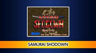 ACA NEOGEO SAMURAI SHODOWN Trophy List Banner