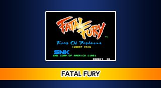 ACA NEOGEO FATAL FURY Trophy List Banner