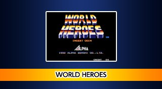 ACA NEOGEO WORLD HEROES Trophy List Banner