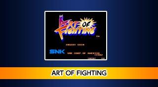ACA NEOGEO ART OF FIGHTING Trophy List Banner