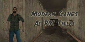 modern games as ps1 games
