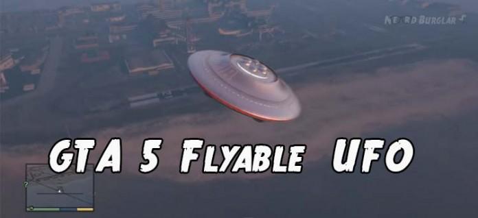 Flyable UFO In GTA V