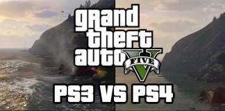 GTA V Ps3 vs Ps4 Comparson Video + 1080p Screens