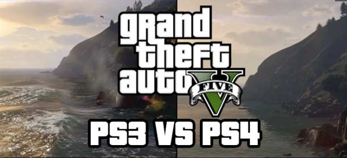 GTA V PS3 vs PS4 Comparson
