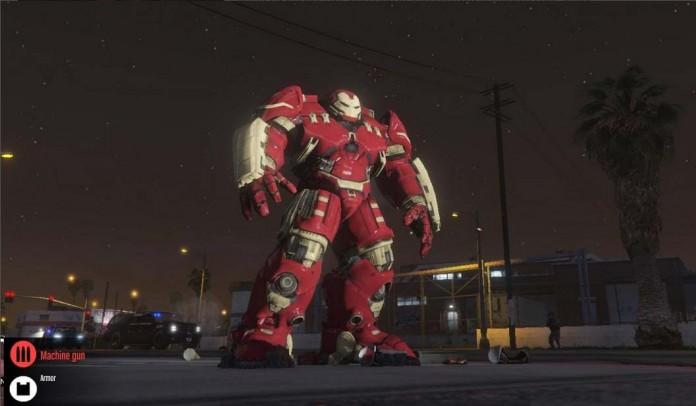 Iron Man And Hulk Buster
