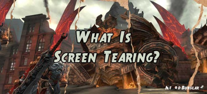 what is screen tearing