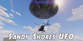 How to Find The Sandy Shores UFO Easter Egg