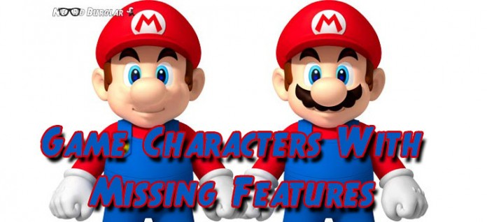 Game Characters With Missing Features