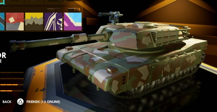Hardware Rivals Predator Tank