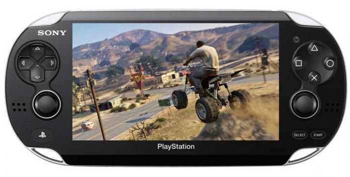 GTA Game On The Vita