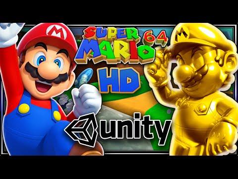 Mario 64 Remade In Unity