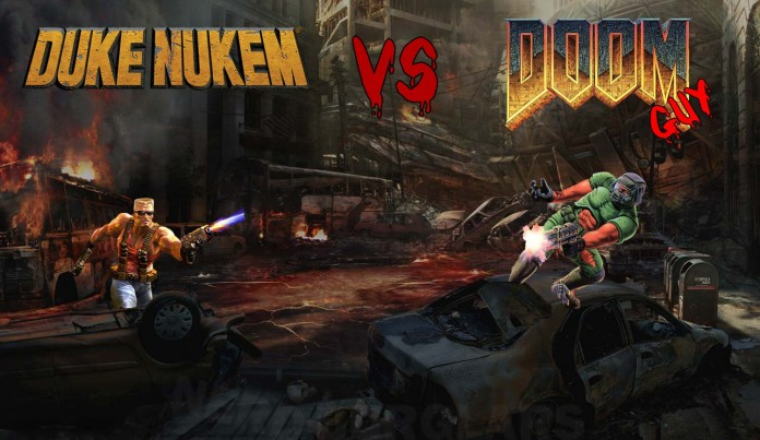 Duke Nukem vs BJ Blaskowitz