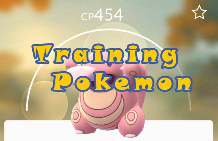 training pokemon