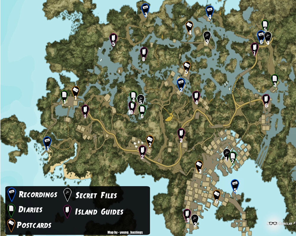 Dead Island Riptide Canned Food Locations