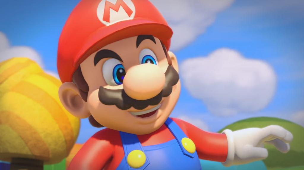 Plastic Mario